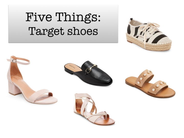 Five Things: Target Shoes