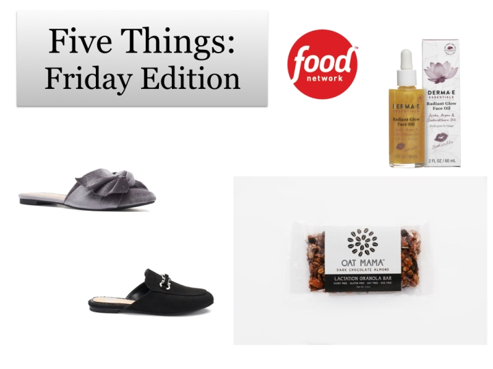 Five Things: Friday Edition