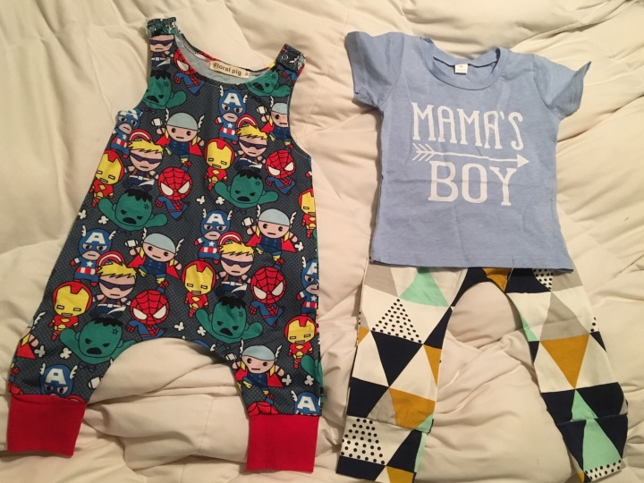 Baby/toddler clothes withlavendersun